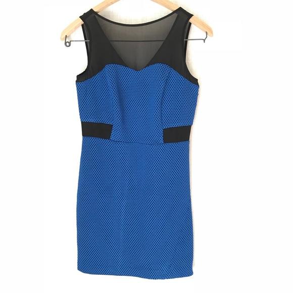 Kensie Dresses & Skirts - Kensie Sleeveless Dress, NWOT, Blue & Black XS